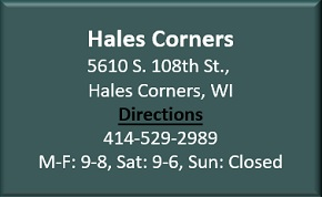Hales Corners locations